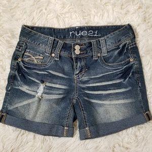 ❤ Rue21 | Bermuda Denim Jean Shorts